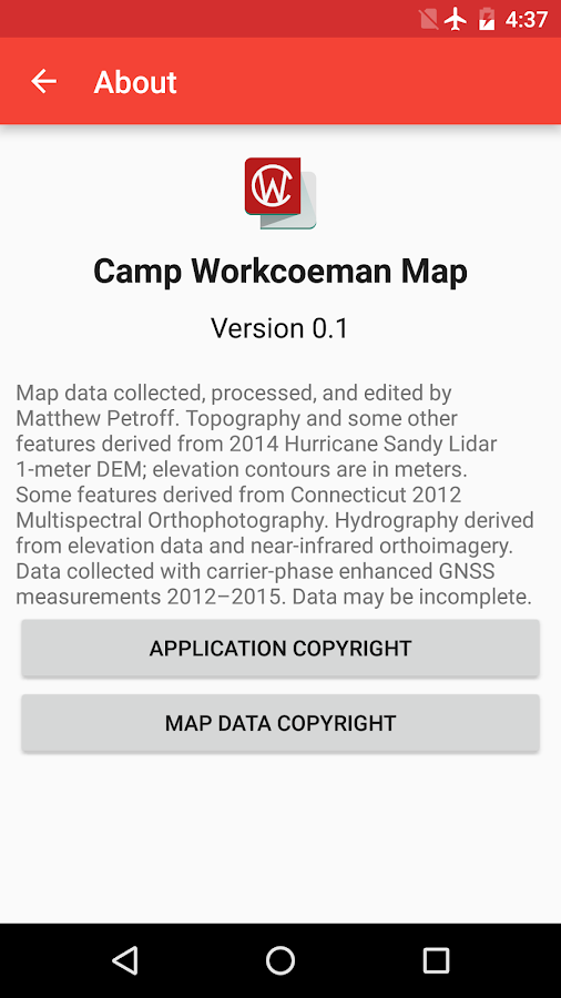 Camp Workcoeman Map- screenshot