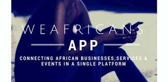 Weafricans -Africans Go Global -E Marketplace App