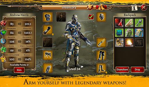 Eterna: Heroes Fall - Deep RPG 1.146 screenshots 14