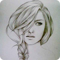 How to Draw Realistic Hair icon
