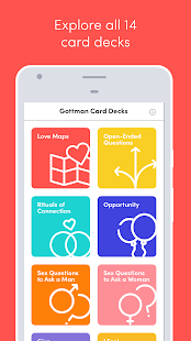 Gottman Card Decks- screenshot thumbnail