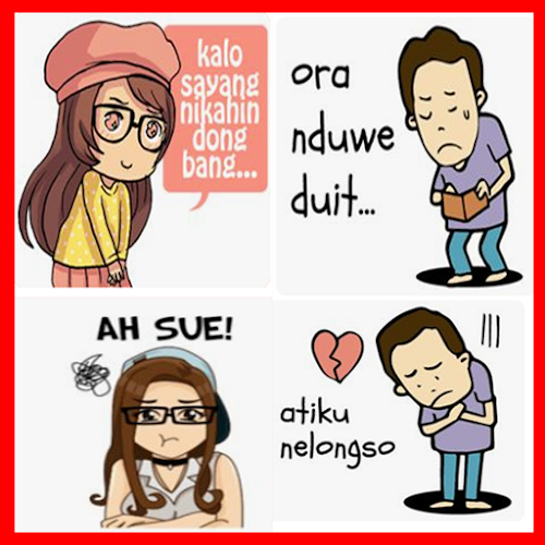 Download Stiker Gambar Lucu Bahasa Jawa Apk Latest Version