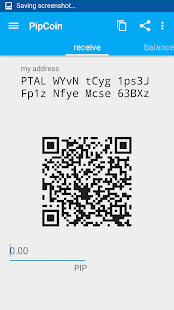 Pipcoin Crypto Android Wallet.- screenshot thumbnail