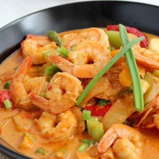 Thai Red Curry Shrimp