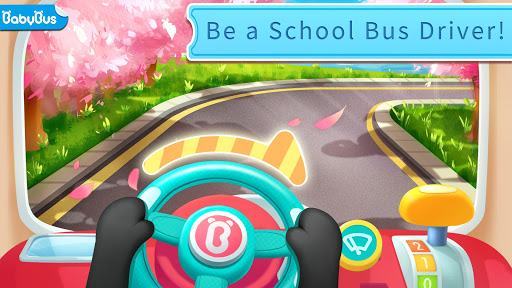 Baby Pandau2019s School Bus - Let's Drive! apkpoly screenshots 1