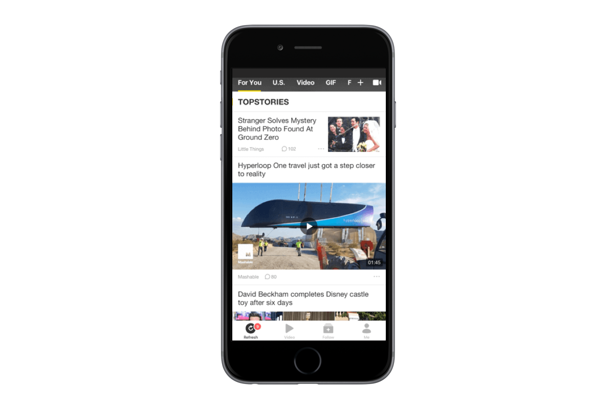 34M unexpected pageviews: A novel news app is helping