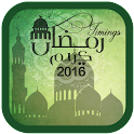 Ramadan Timings Calendar 2016 icon