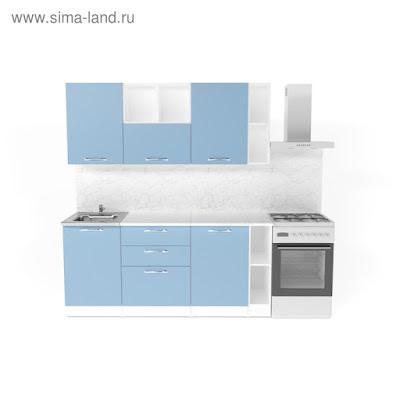 Кухонный гарнитур Евгения макси 4 1800 мм