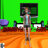 3D Girl Dancing Dress Up