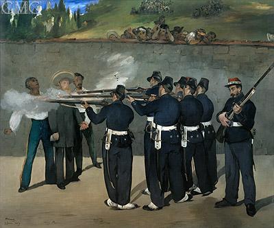 Photo: The Execution of the Emperor Maximilian, c.1867/68