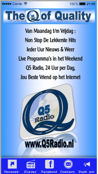 Q5Radio- screenshot
