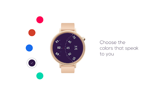 Roto Gears Watch Face for Android Wear Screenshot