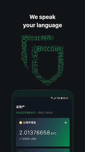 Green: Bitcoin Wallet 3.4.0 Screenshots 3