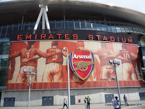 Photo: 30/07/11 - Ground photos taken at the Emirates Stadium (venue for Emirates Cup 2011) - contributed by Rob Campion