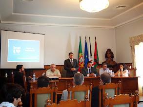 Photo: Sessão de apresentação do espaço Level UP - Dr. Jorge Botelho – Presidente da C.M. de Tavira