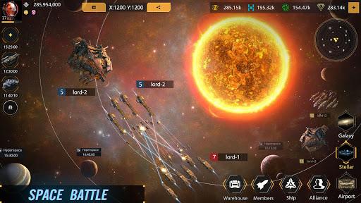 Infinite Galaxy - Empire, starcraft, sci fi, mmo apkpoly screenshots 4