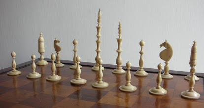 Photo: CH217; German spindle set mid/late C19th; several pieces are not original