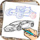 Car Drawing icon