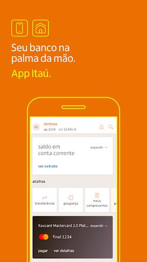 Banco Itaú: Gerencie sua conta pelo celular screenshot 1
