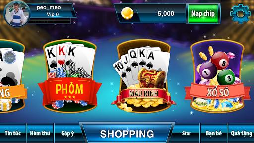 Game danh bai doi thuong 2017 3.0.3 screenshots 1