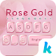 Rose Gold Keyboard for Phone8 icon