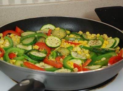 Zucchini And Corn Saute Recipe
