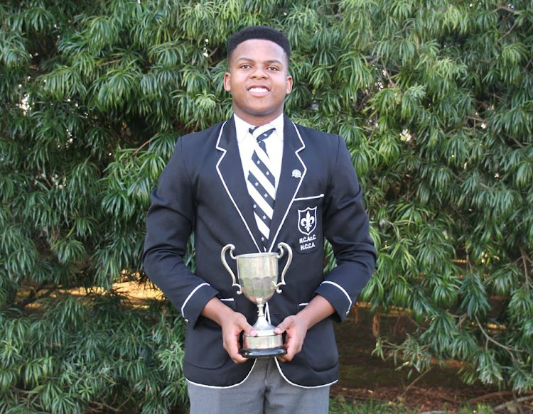 Kutloano Modisaesi, with seven distinictions, was the top achiever at Hilton College.