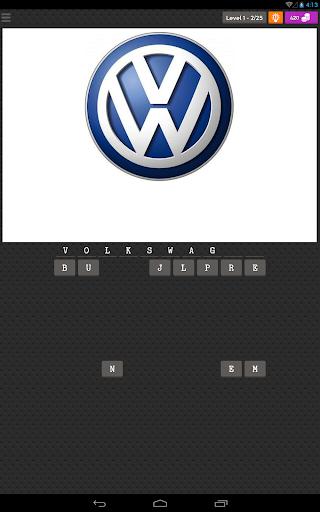 Car Logo Quiz game (apk) free download for Android/PC/Windows screenshot