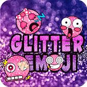 Glitter Emoji for iKeyboard