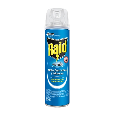 insecticida raid elimina voladores Aer 360ml