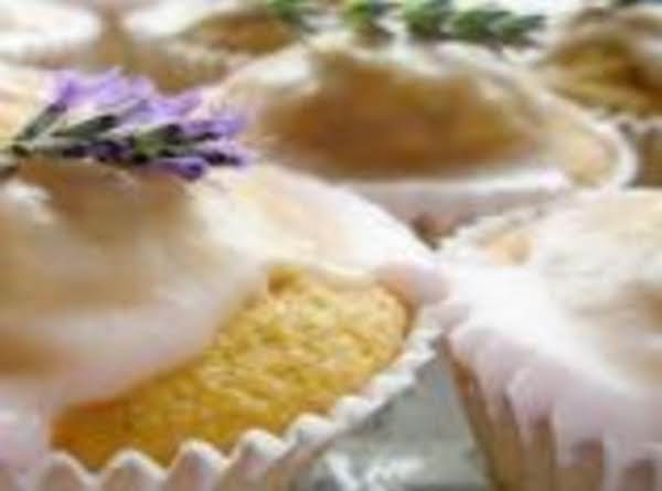 Faerie Cake With Lavender Whipped Cream