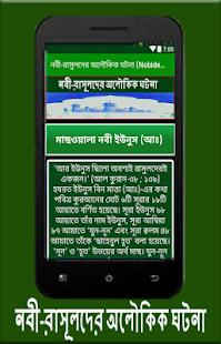 নবী-রাসুলদের অলৌকিক ঘটনা (Nobider Jibon Kahini) - náhled