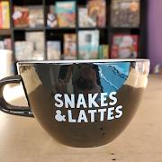 Snakes&Lattes Latte Mug