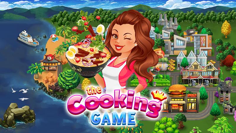 The Cooking Game- Food & Restaurants Management v2.0.2 [Mod]