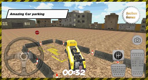 3D城市卡车停车场|玩模擬App免費|玩APPs