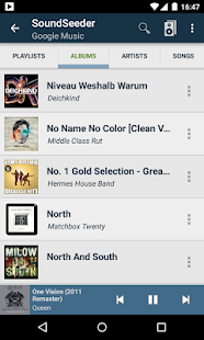 SoundSeeder Music Player Screenshot 3