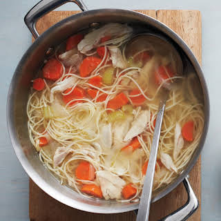 One-Pot Classic Chicken Noodle Soup.
