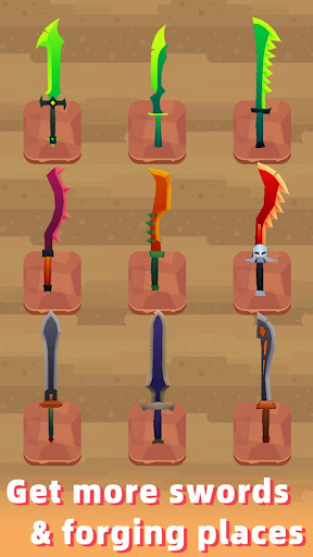 Merge Sword - Idle Blacksmith Master 1.3.4 screenshots 12