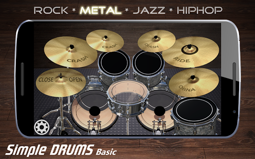 Simple Drums Basic - Virtual Drum Set 1.2.9 screenshots 5