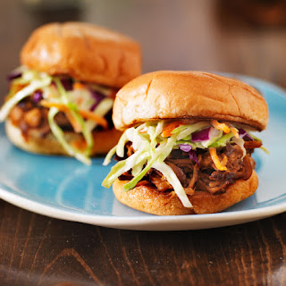 Coleslaw-Topped Pork Sliders