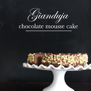 No-Bake Gianduja Chocolate Mousse Cake. Happy Birthday Mum!.