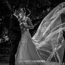 Wedding photographer Leonardo Londoño (LeonardoLondon). Photo of 15.05.2018