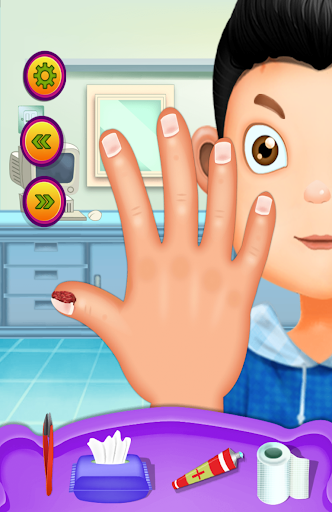 玩教育App|Hand & Nail Doctor Kids Games免費|APP試玩