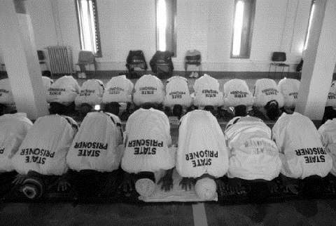 The percentage of Muslims in prisons throughout Europe and the U.S. far exceeds their numbers in the general population of each country.