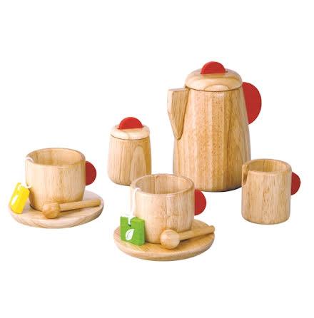 PLanToys Tea Set solid wood