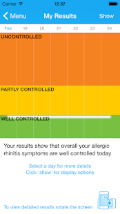 Allergy Diary by MACVIA ARIA- screenshot thumbnail