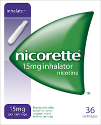 Nicorette Inhalator - 36 Cartridges, 15mg