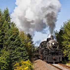 2719 by Ben Podolak - Transportation Trains ( steam train, locomotive, lake superior, soo line, 2719 )