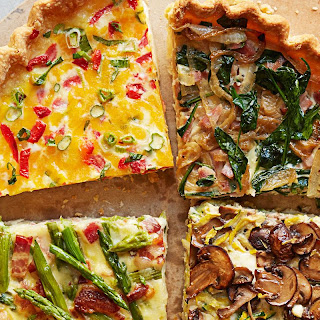 Ham and Spinach Make-Ahead Quiche