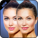 Make me old face aging effect photo editor icon